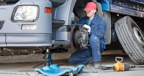High Quality Truck & Trailer Repair Service in Houston